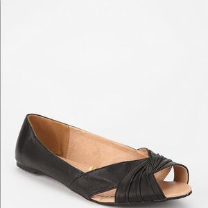 Kimchi Blue-Urban Outfitters Leather Flats